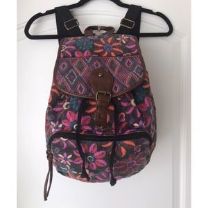 Mossimo Supply Co. Floral Backpack NWT
